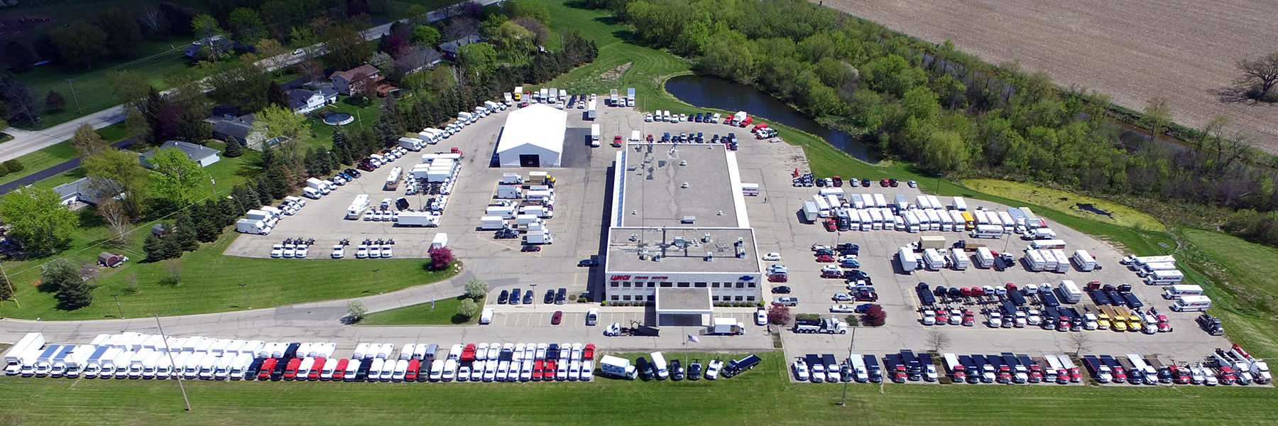 Lynch Truck Center Aerial View