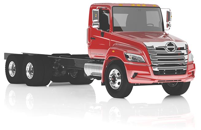 2018 Hino XL Series Truck
