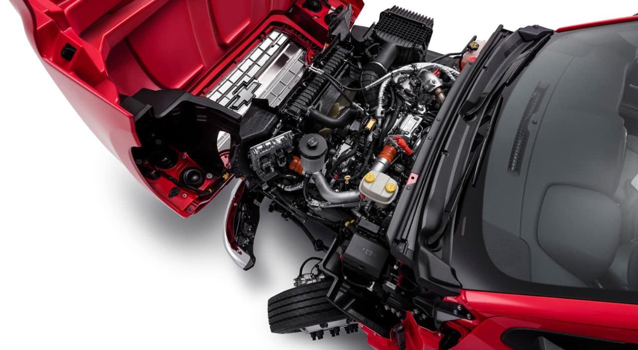 2019 Chevrolet Silverado 6500HD Engine