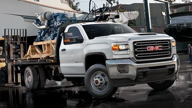 2018 GMC Sierra Chassis Cab