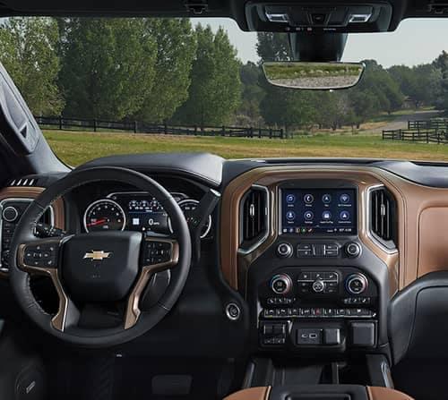 2019 Chevy Silverado 1500 Dash