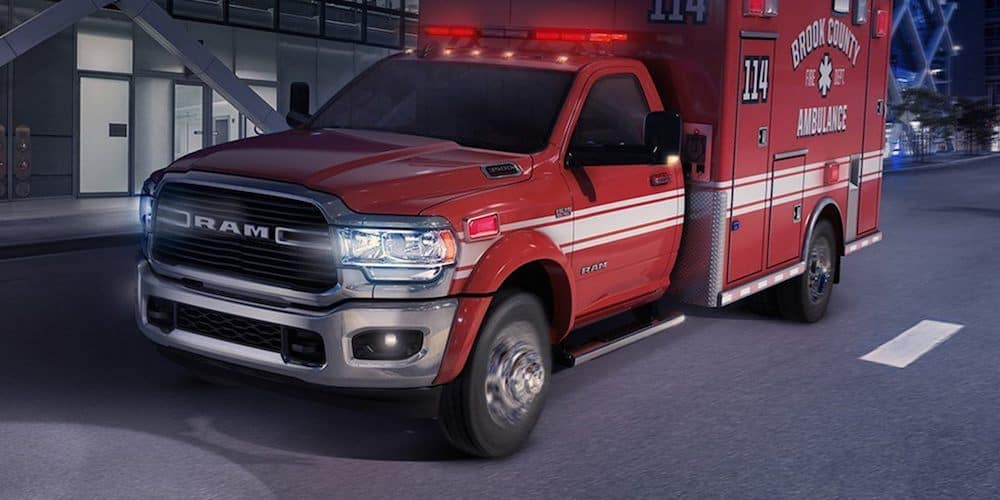 2019 ram 3500 ambulance chassis cab body