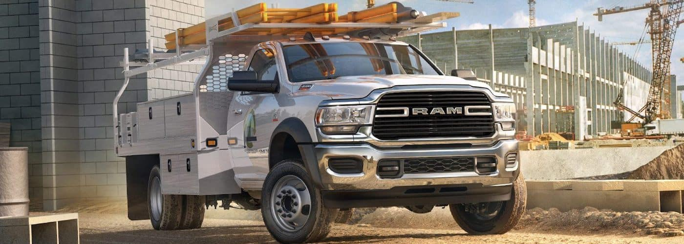 2019 ram 4500 chassis cab at work site