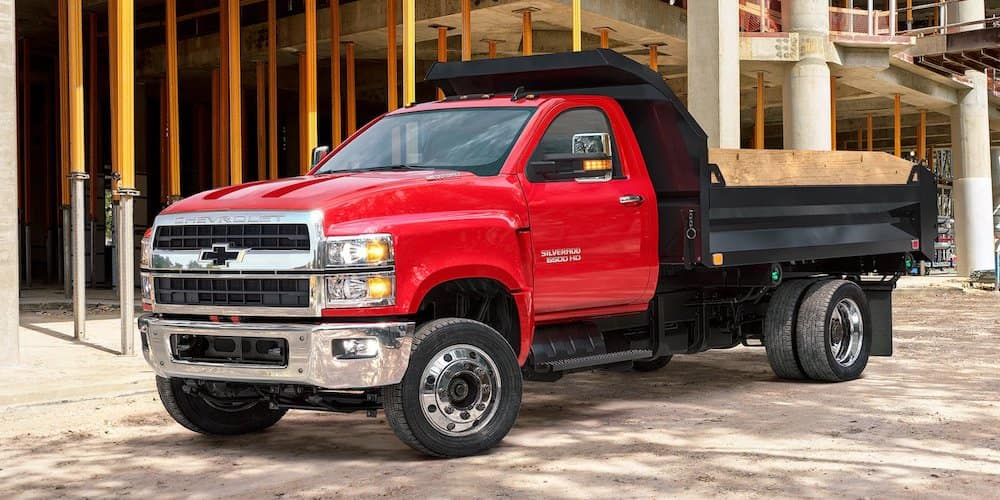 2019 Chevrolet Silverado 5500 at Construction Site