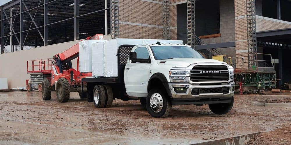 2019 RAM 5500 at Construction Site