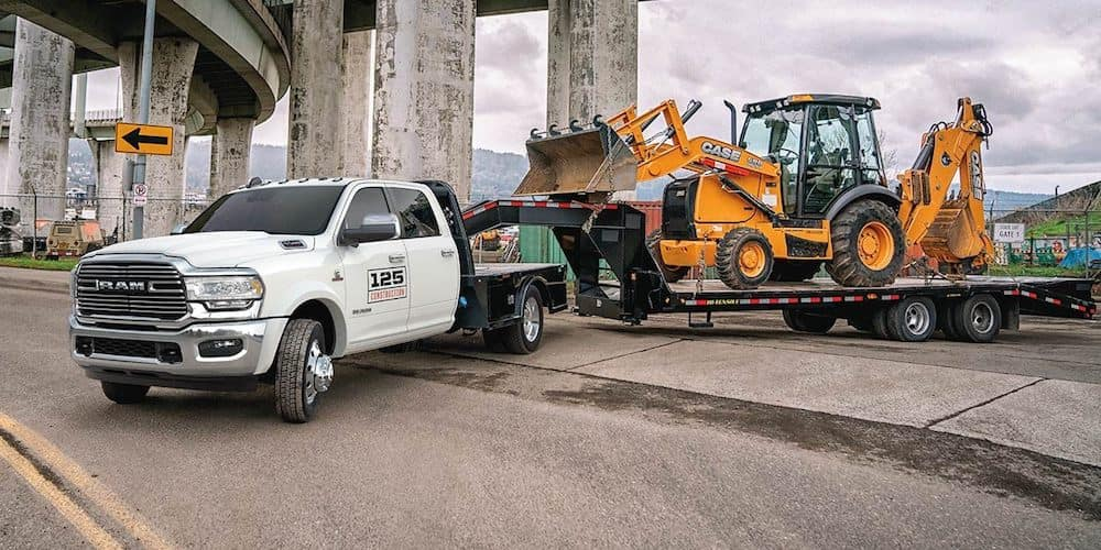 2019 RAM Chassis Cab at Construction Site