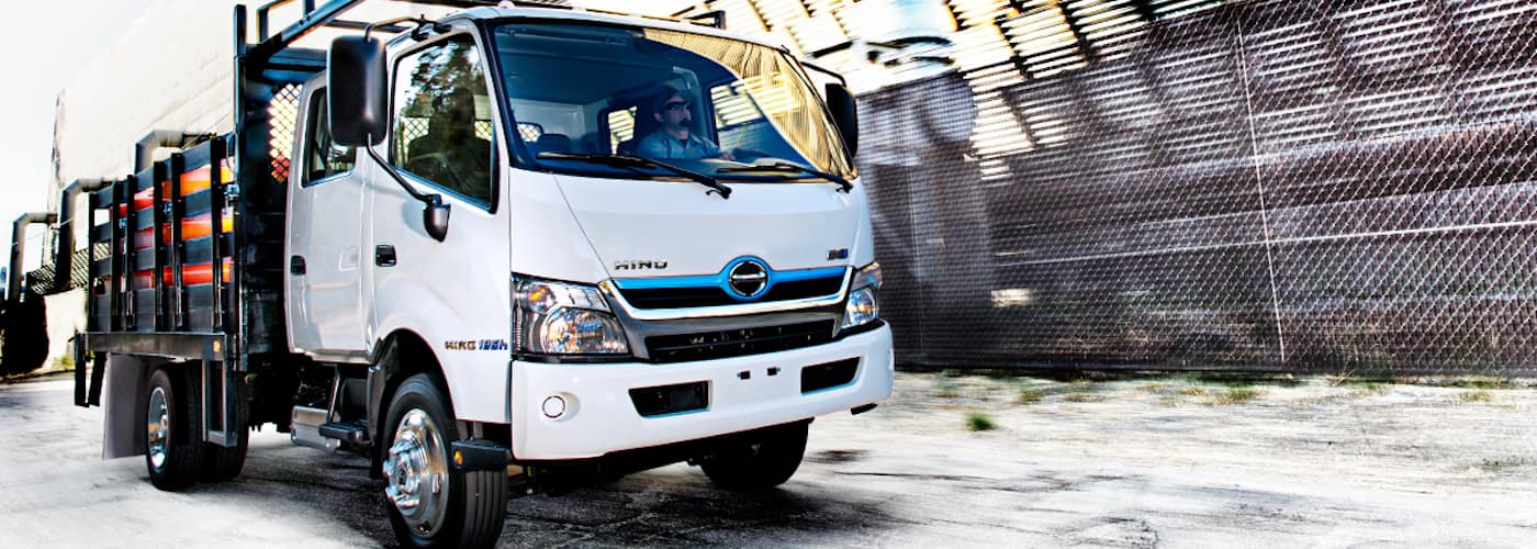 2018 Hino 195 Hybrid Model