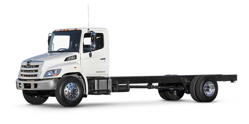 Side View of HINO Chassis Cab