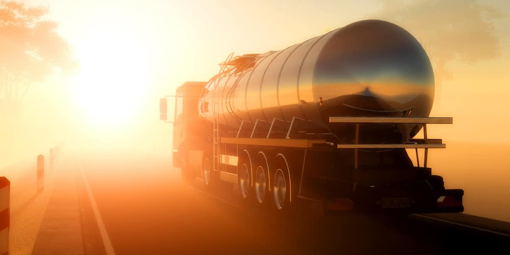 Fuel Tanker Driving