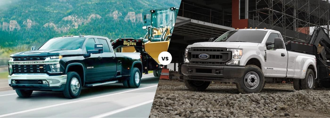 2020 Chevy Silverado 3500 vs. 2020 Ford F-350