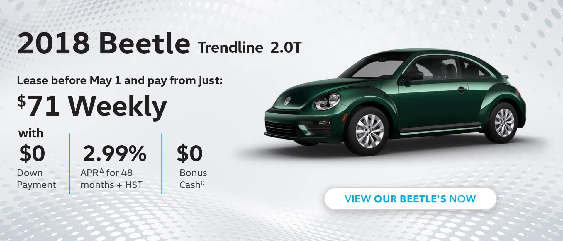 Maple VW Beetle