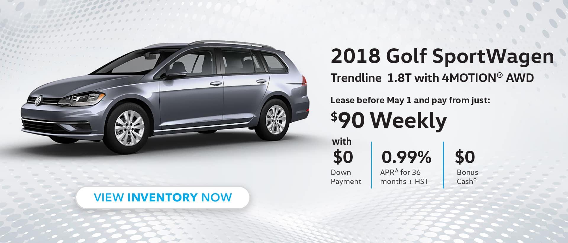 Maple VW Golf SportWagen
