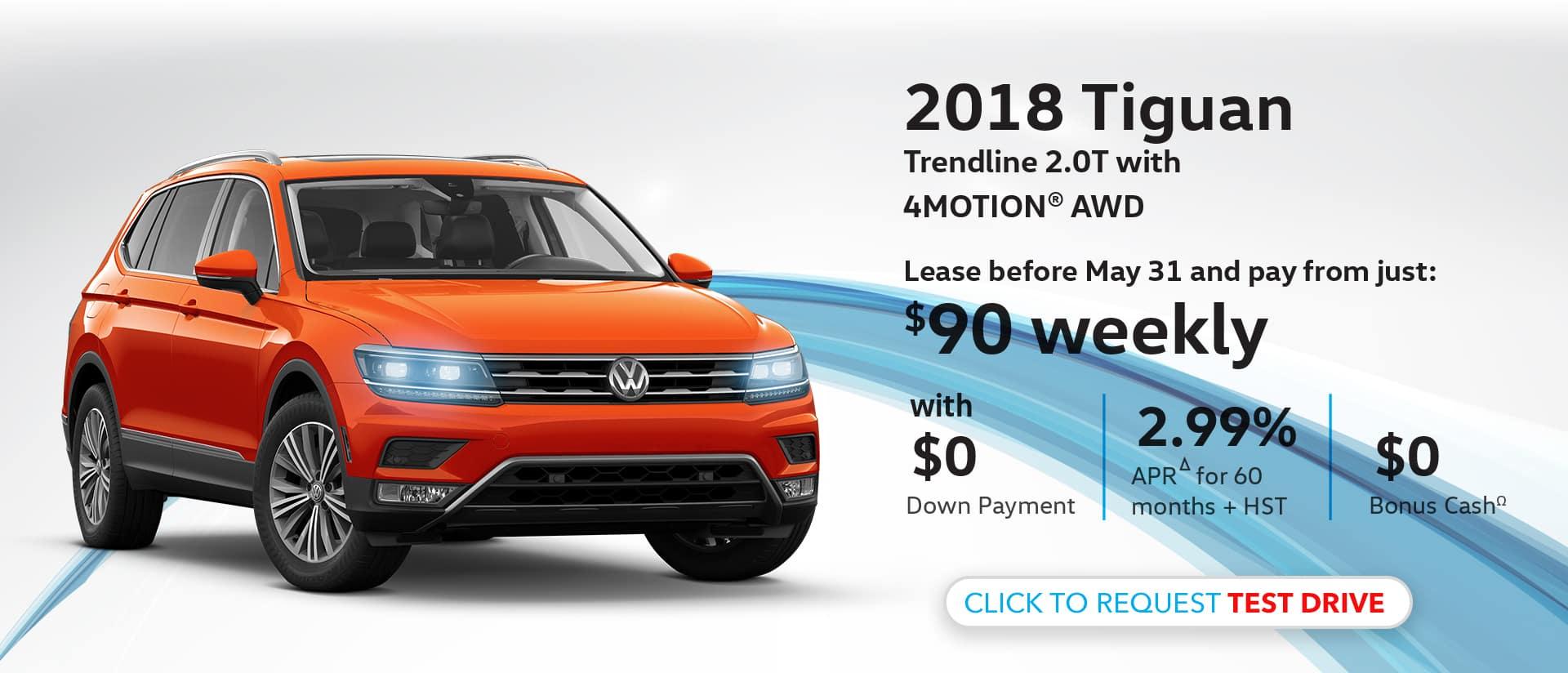 Maple VW Tiguan 4 Motion