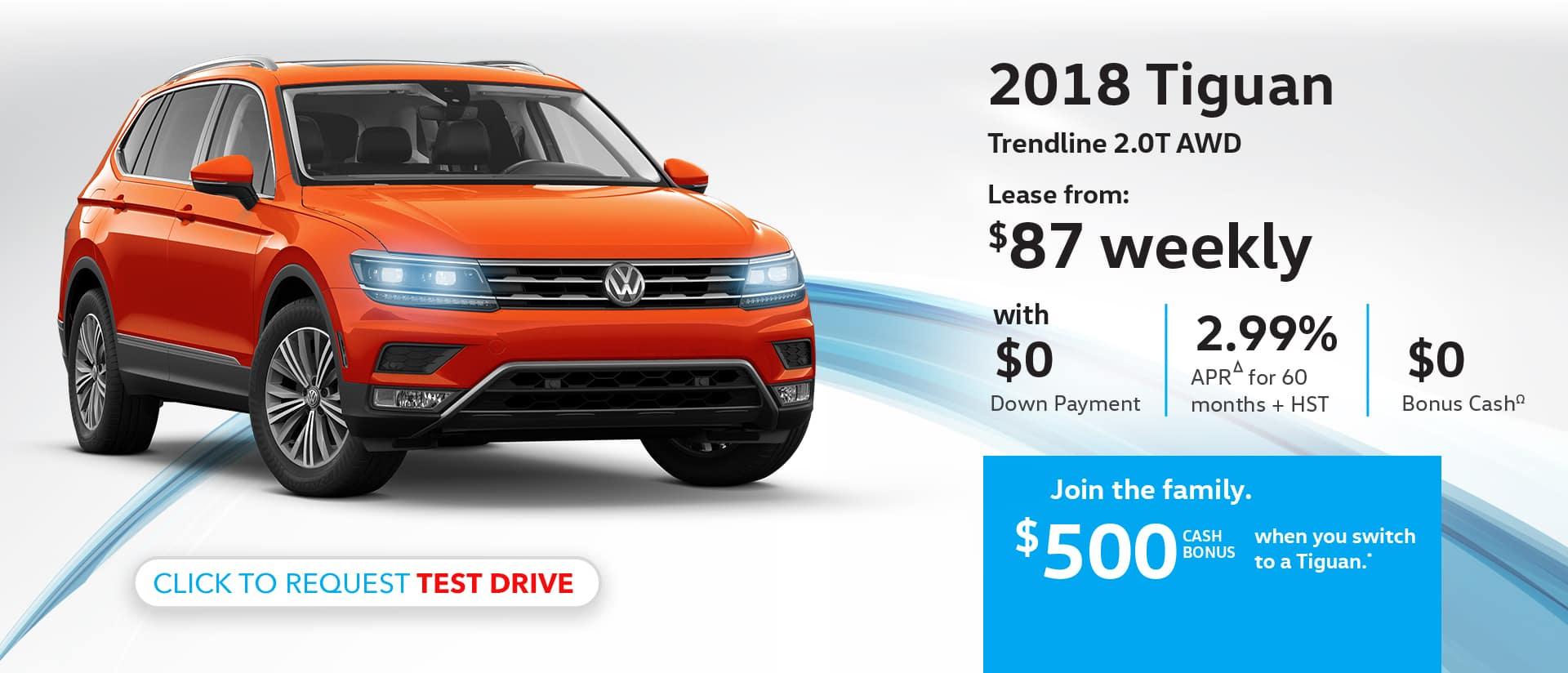 Maple Volkswagen 2018 Tiguan