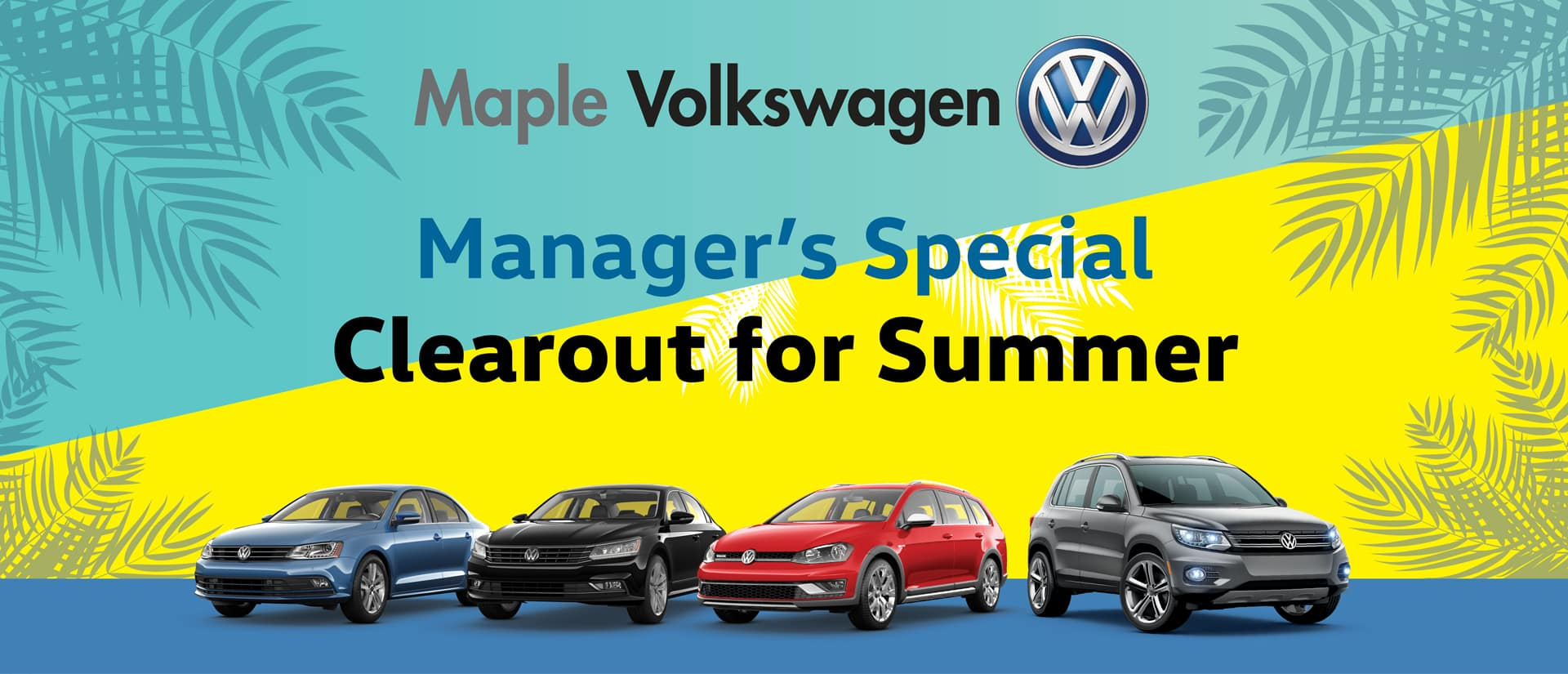 Maple Volkswagen Demo Clearance