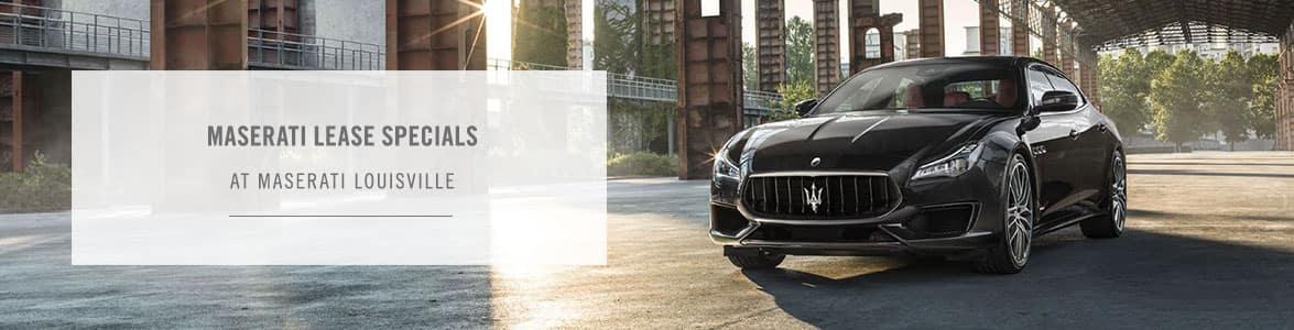Maserati Lease Specials Louisville