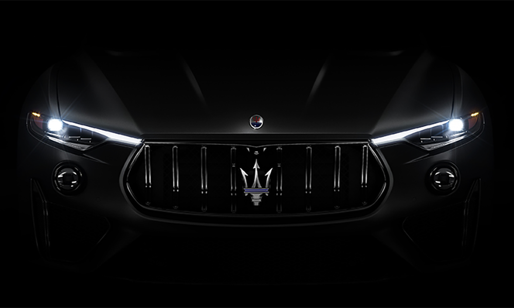 2019 Maserati Levante GTS Full Matrix LED Headlamps