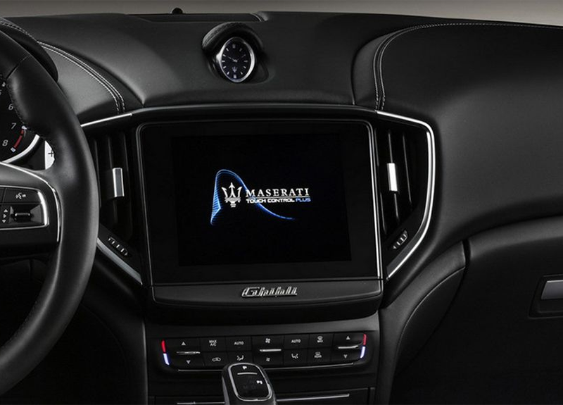 2019 Maserati Ghibli Touch Control Plus Infotainment System