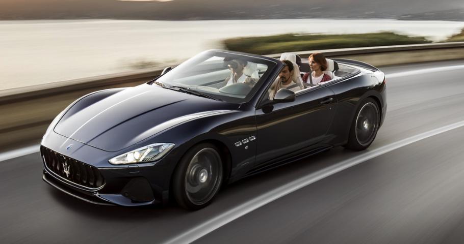 2019 Maserati GranTurismo Convertible Exterior Styling