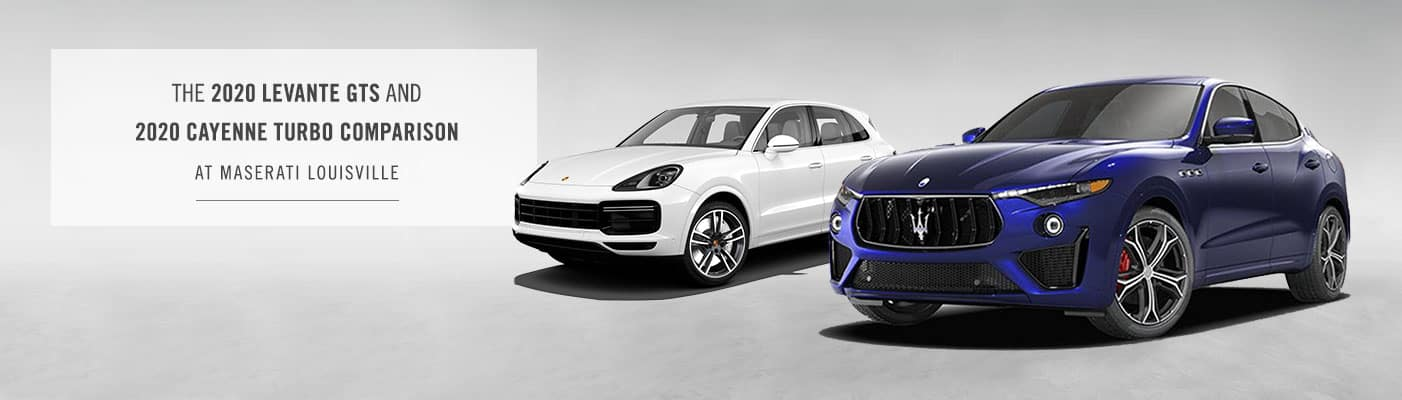 2020 Levante GTS vs. 2020 Cayenne Turbo Comparison