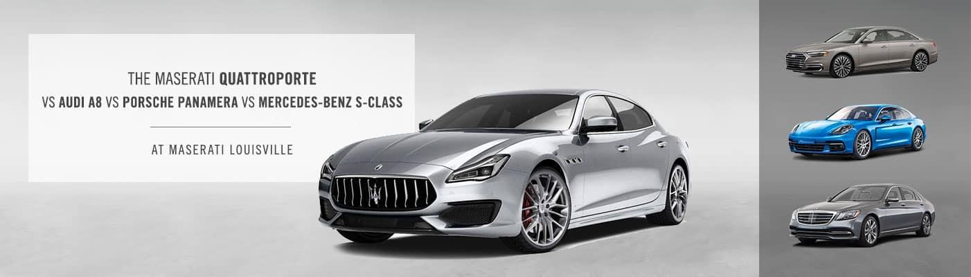 Maserati Quattroporte vs Audi A8 vs Porsche Panamera vs Mercedes-Benz S-Class