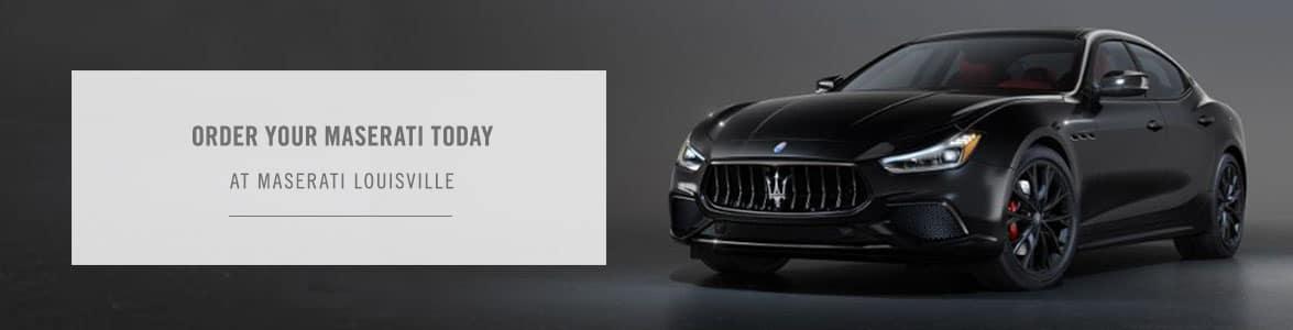 Reserve Your Maserati Page - Maserati Louisville