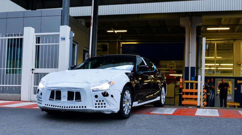 Maserati Ghibli Assembly