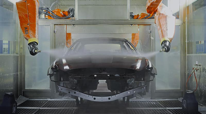 Maserati Paint Booth