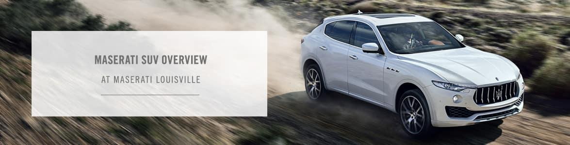 2021 Maserati SUV Guide – Maserati Louisville