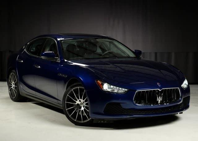 Certified Pre-Owned 2017 Maserati Ghibli S Q4 AWD