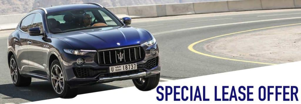 2019 Maserati Levante Base Lease Offer
