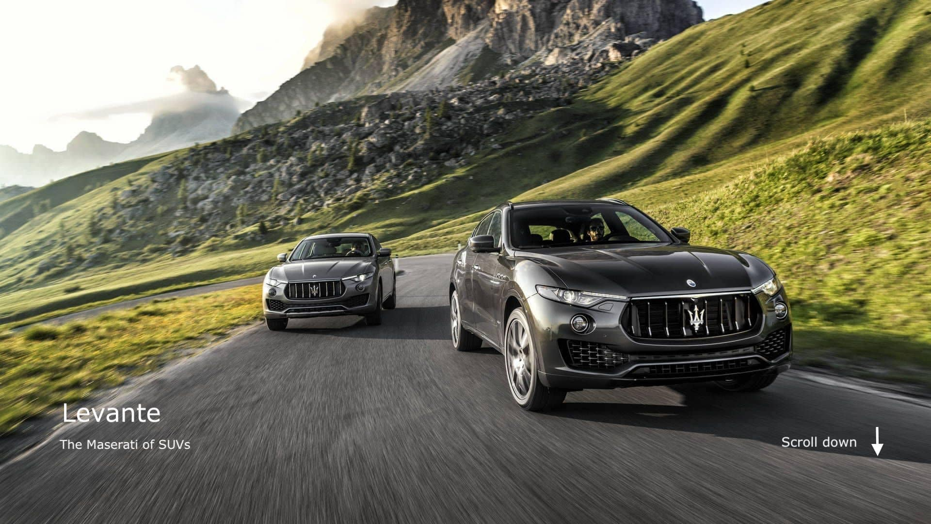 First Look - Maserati SUV