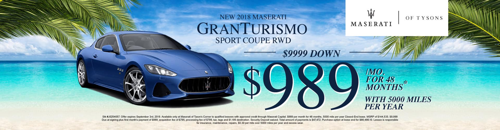 GranTurismo Sport Coupe RWD Lease Specials
