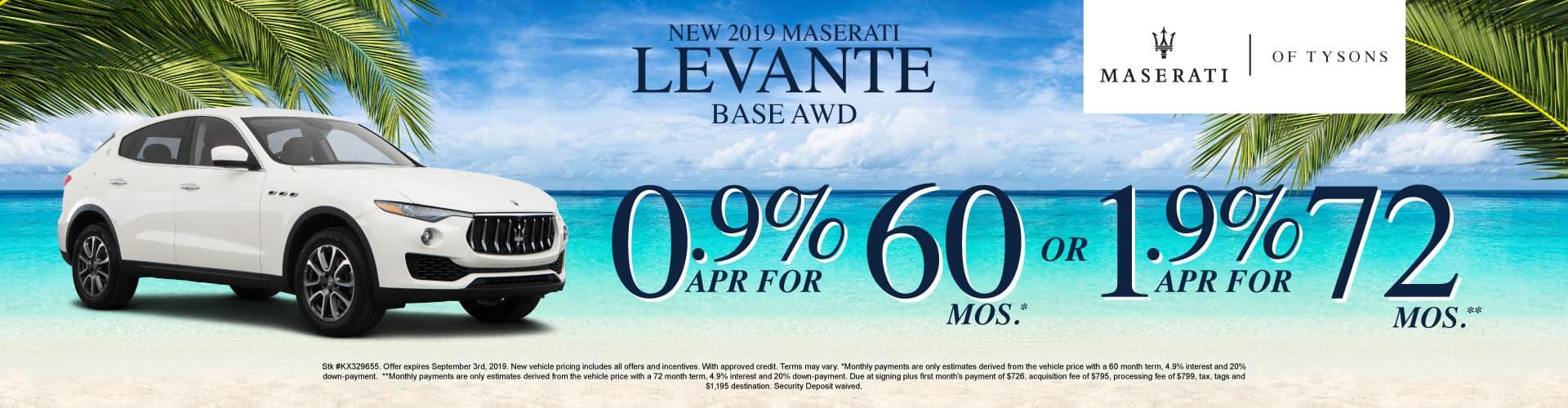 Levante Base AWD Specials