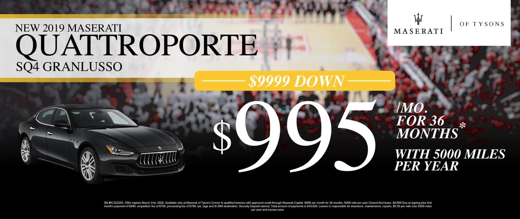 Quattroporte Specials