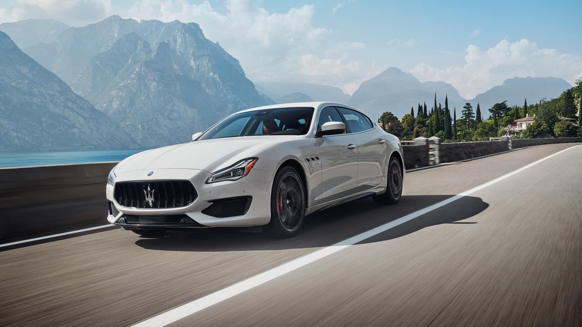 Maserati Quattroporte performance