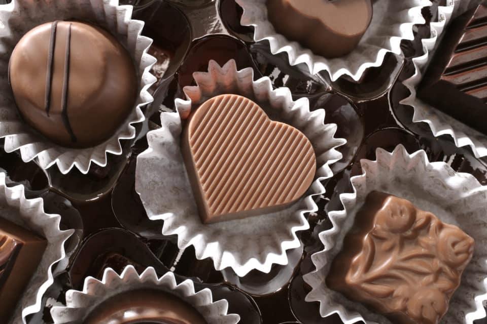 Box of chocolates candy