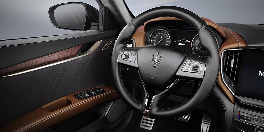 Maserati Ghibli interior available in Tysons VA
