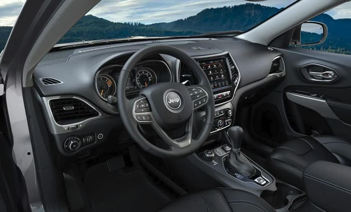 2019 Jeep Cherokee Interior drivers side