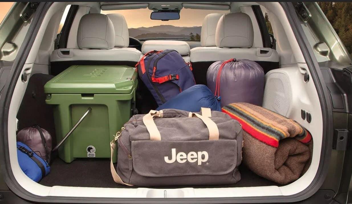 2019 Jeep Cherokee cargo area