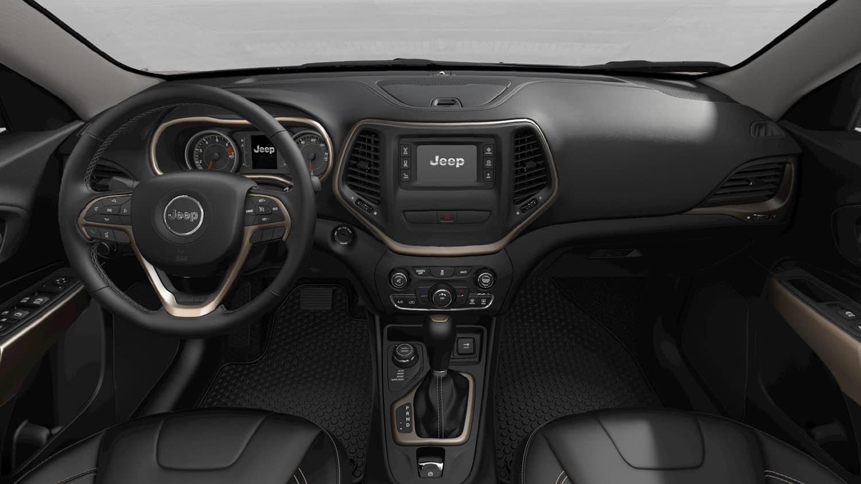 2019 Jeep Cherokee Interior Technology