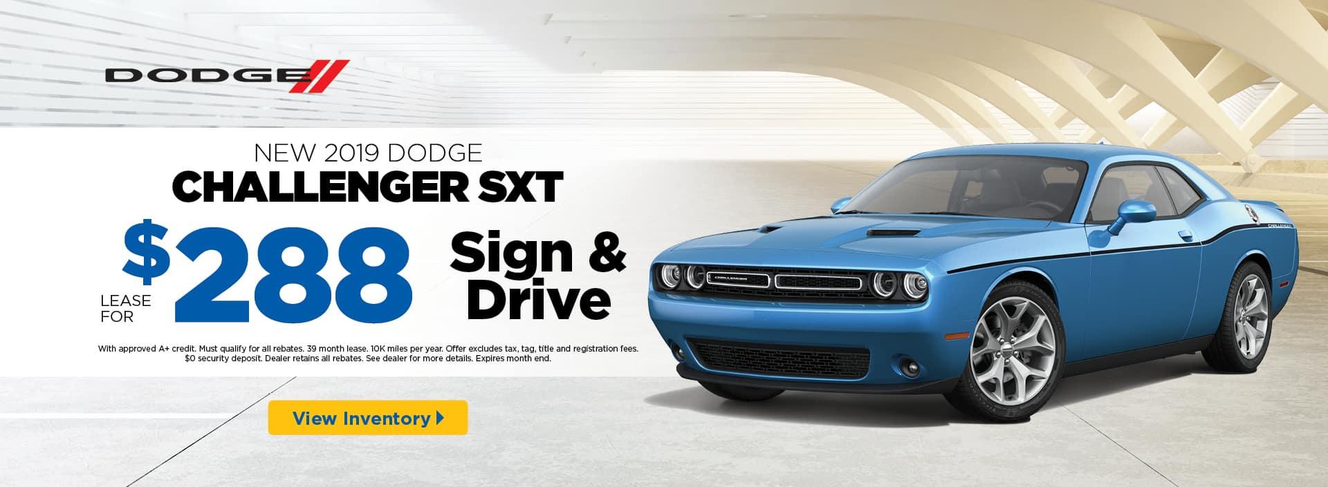 2019 Challenger SXT