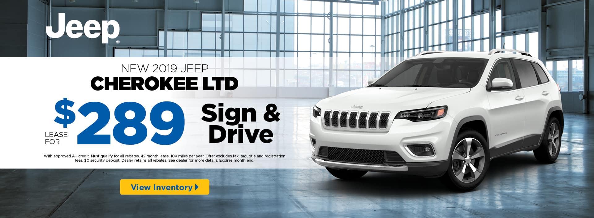2019 Cherokee LTD banner