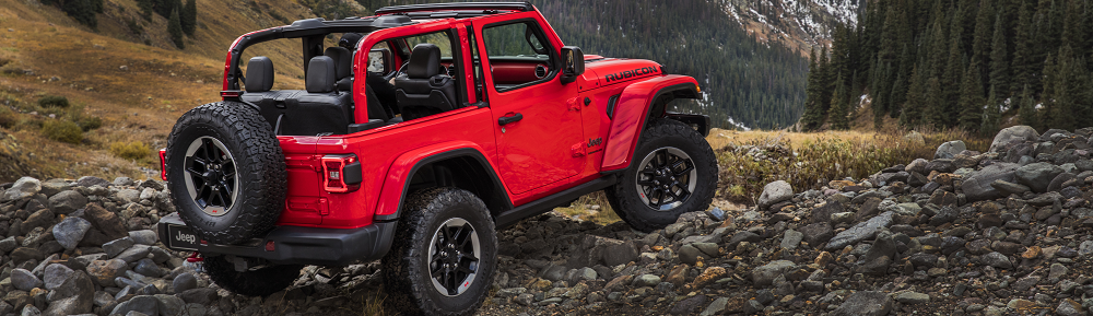 Jeep Wrangler Trim Levels