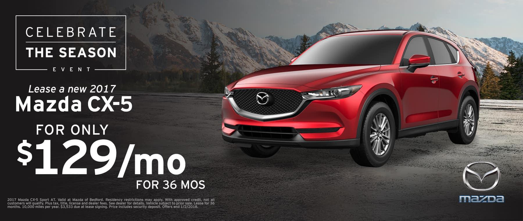2017 Mazda CX-5 Lease Offer