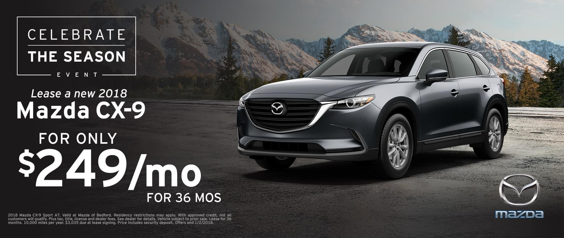 2018 Mazda CX-9 Lease Offer
