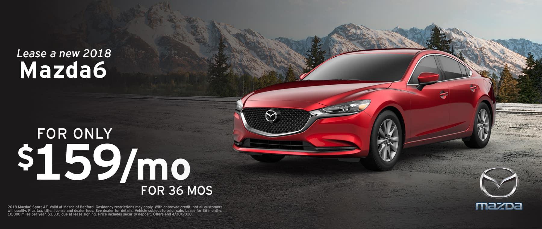 2018 Mazda6 April