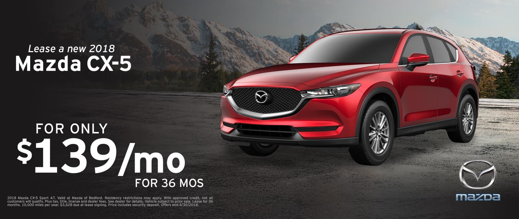 2018 Mazda CX-5 April