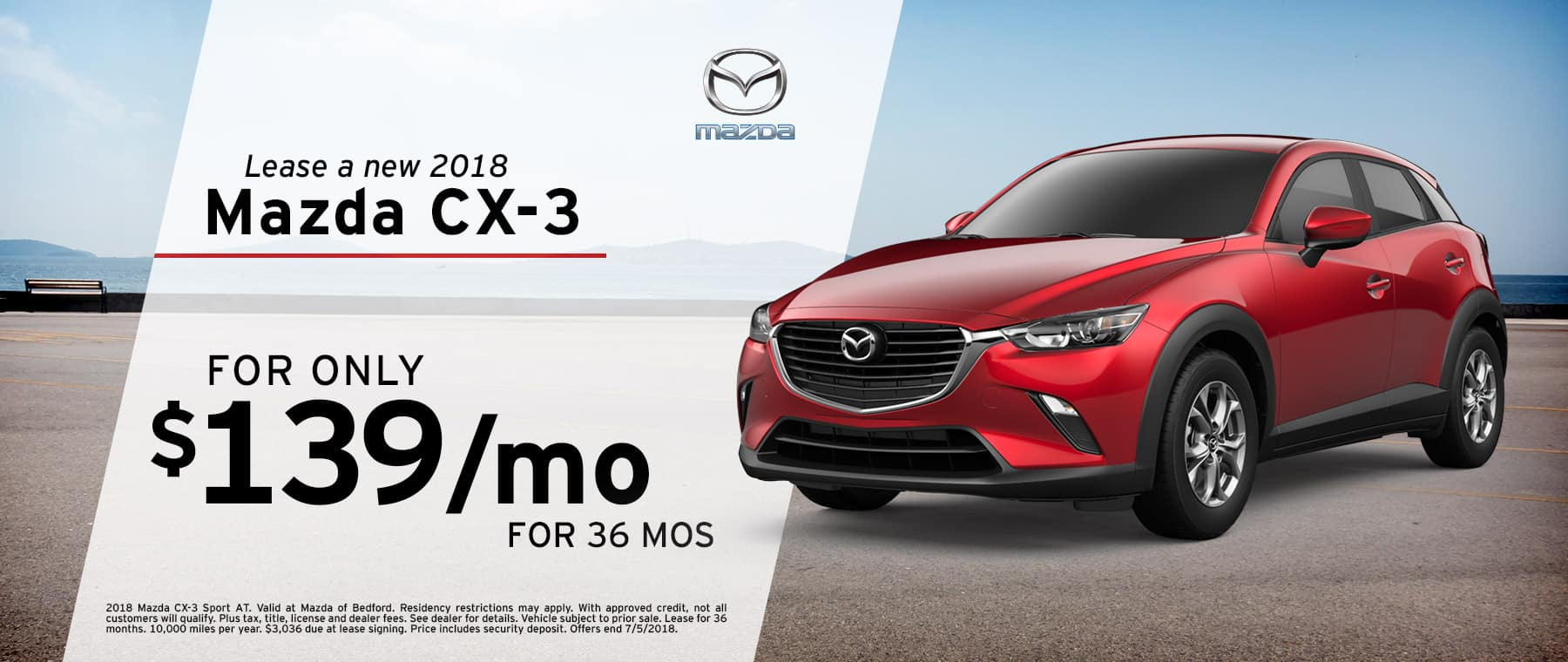 Mazda Bedford Specials | Mazda CX-3
