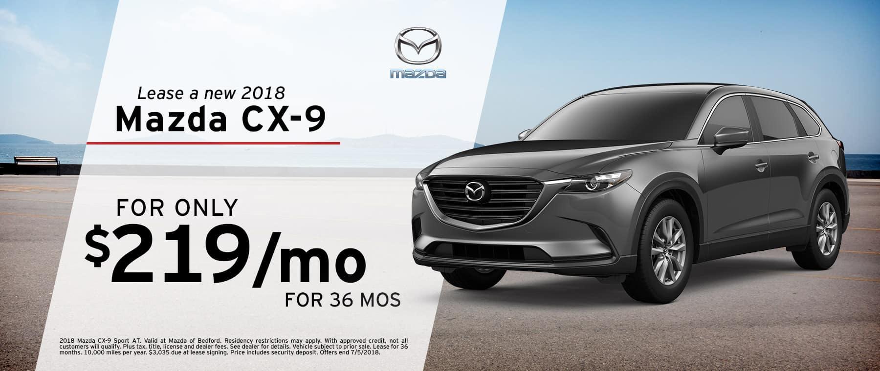 Mazda Bedford Specials | Mazda CX-9